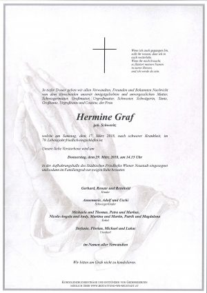 Portrait von Graf Hermine