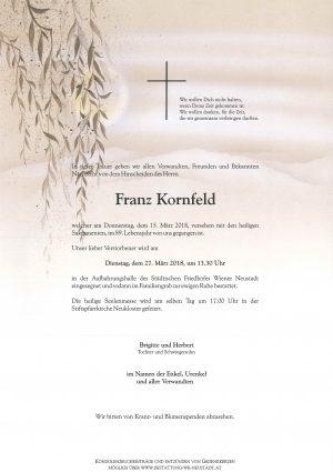 Portrait von Kornfeld Franz