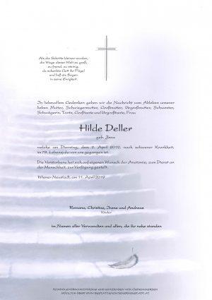 Portrait von Hilde Deller