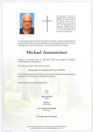 Portrait von Michael Antensteiner