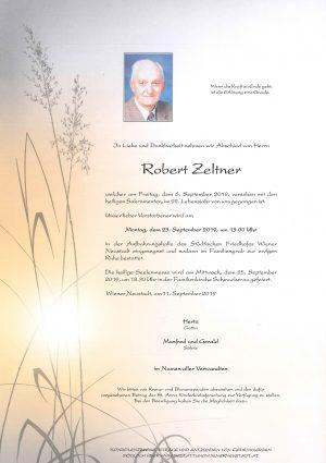 Portrait von Robert Zeltner