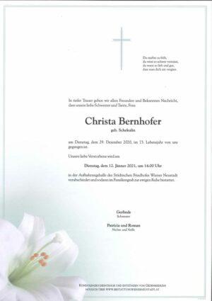 Portrait von Christa Bernhofer