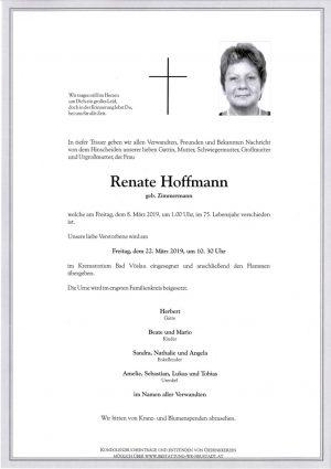 Portrait von Renate Hoffmann