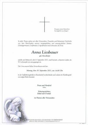 Portrait von Anna Liesbauer