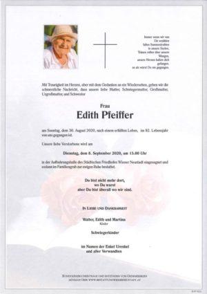 Portrait von Edith Pfeiffer