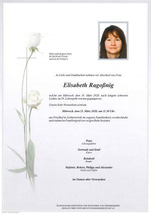 Portrait von Elisabeth Ragoßnig