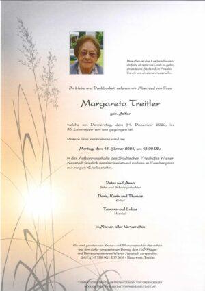 Portrait von Margareta Treitler